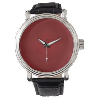 Blood Red Gradient - Customized Dark Red Template Wrist Watches