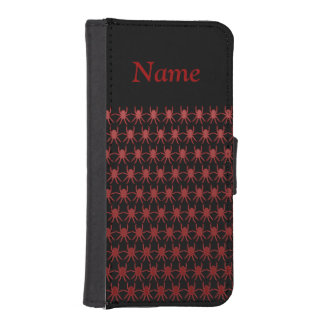 Blood red spiders on black Personalise-It