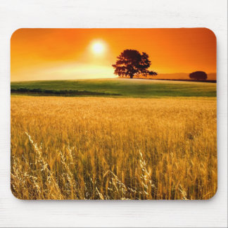 Blood-Red Sunset Mouse Mat