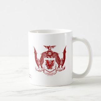 Blood Red Vampyr Crest Basic White Mug