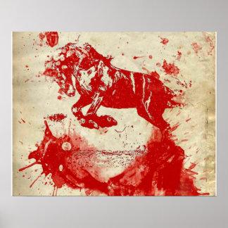 Blood Runs Wild Within Poster