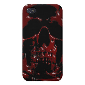 Blood Skull iPhone 4/4S Cases