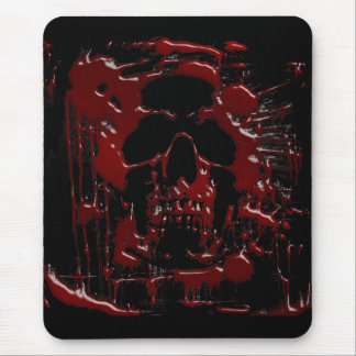 Blood Skull Mouse Mat