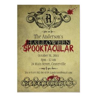 Blood & Snakes Halloween Spooktacular Invitation