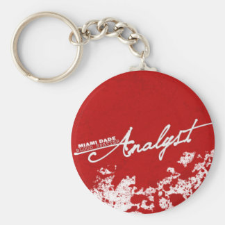 Blood Spatter Analyst Key Ring