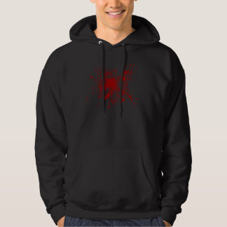 Blood Splat Sweater Hooded Pullover