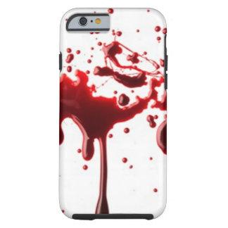 blood splatter 3 tough iPhone 6 case