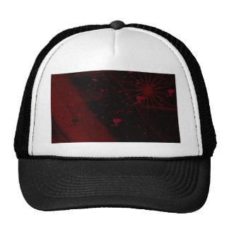 Blood Splatter Abstract Trucker Hat