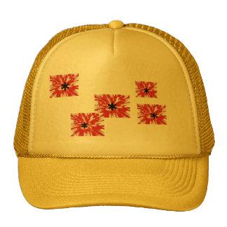 BLOOD SPLATTER CAP MESH HATS