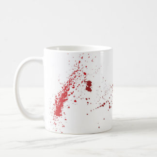 Blood Splatter Coffee Mug