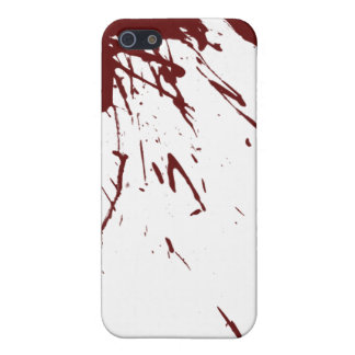 Blood Splatter Design iPhone 5 Case