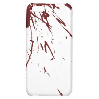 Blood Splatter Design iPhone 5C Covers