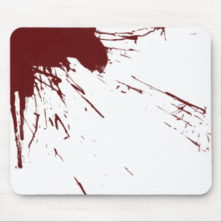 Blood Splatter Design Mouse Mat