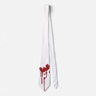 Blood Splatter Tie - Zombie Vampire Attack