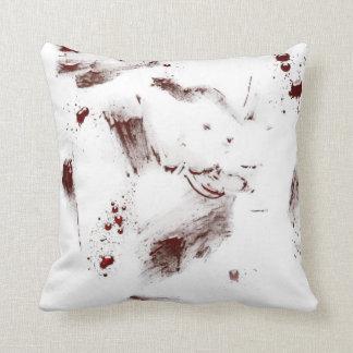 Blood Splattered Pillow Cushion