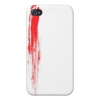 Blood Spray 02 iPhone 4 Cases