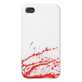 Blood Spray 04 iPhone 4 Covers