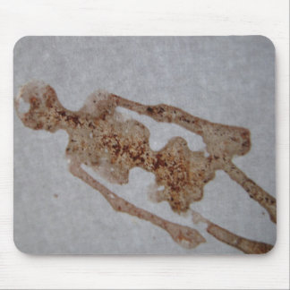 Blood Stain skeleton Mouse Mat