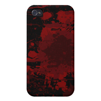 Blood Stained Fitted Hard Shell Apple iPhone Case iPhone 4/4S Cases