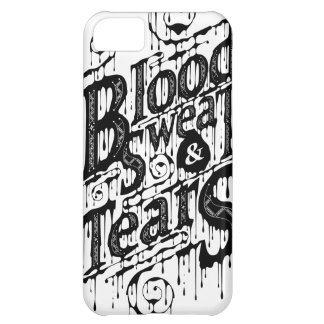 Blood Sweat Tears - Iphone 5C Case White