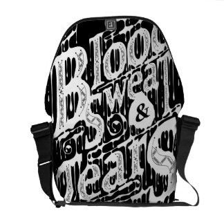 Blood, Sweat, & Tears - Messenger Bag (Black)