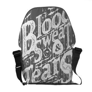 Blood, Sweat, & Tears - Messenger Bag (Gray)