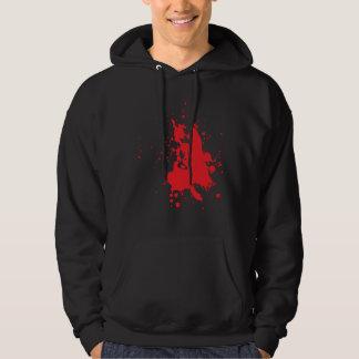 blood sweatshirts