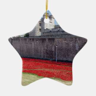 Blood Swept Lands and Seas of Red Ceramic Star Decoration