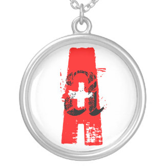 Blood Type A+  Necklace