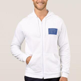 blood type hoodie