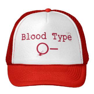 Blood Type O Negative Hat