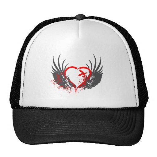 Blood Wings - Emo, Rock, goth, alternative, grunge Hats