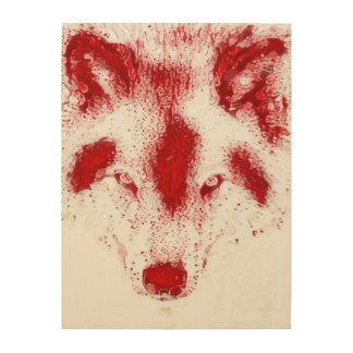 Blood Wolf Fantasy Wildlife Art