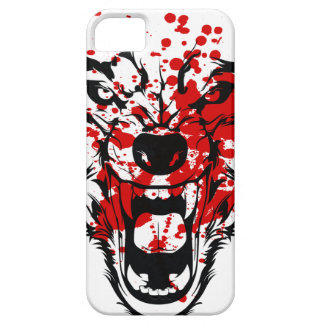 Blood Wolf iPhone 5 Cover