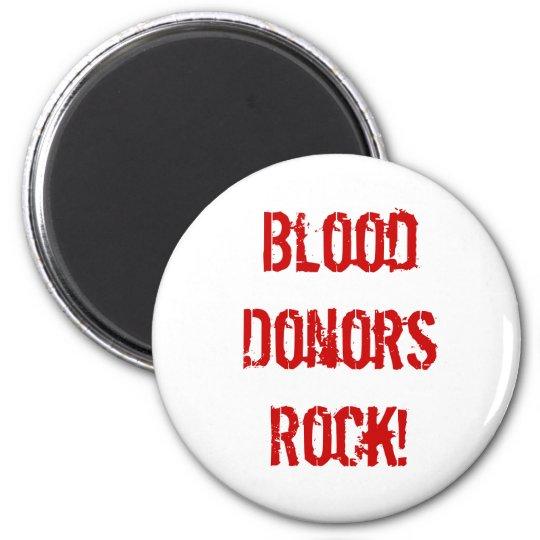 BloodDonorsRock! Magnet