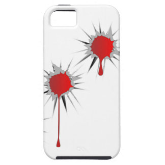 Blooded Bullet Holes iPhone 5 Case
