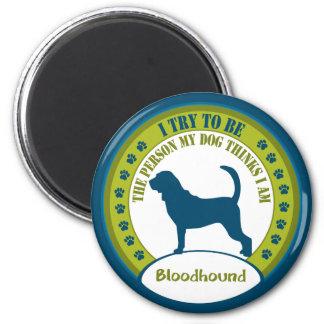 Bloodhound 6 Cm Round Magnet