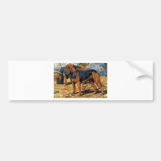 Bloodhound Bumper Sticker