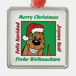 Bloodhound Christmas Christmas Ornament