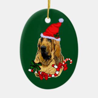 Bloodhound Christmas Christmas Ornament