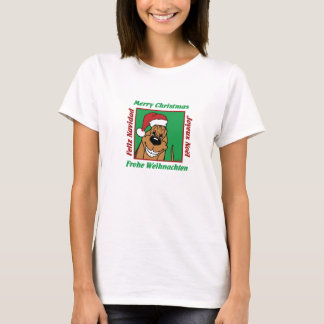 Bloodhound Christmas T-Shirt