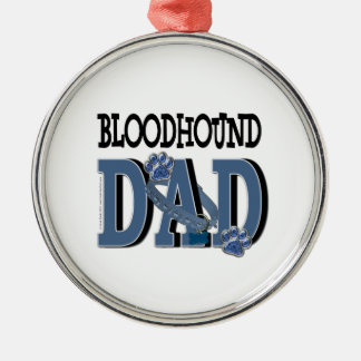 Bloodhound DAD Christmas Tree Ornament