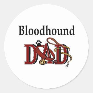 Bloodhound Dad Sticker