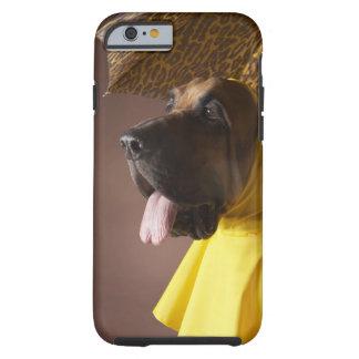 Bloodhound dog. tough iPhone 6 case