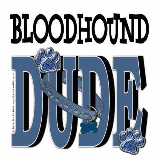 Bloodhound DUDE Standing Photo Sculpture
