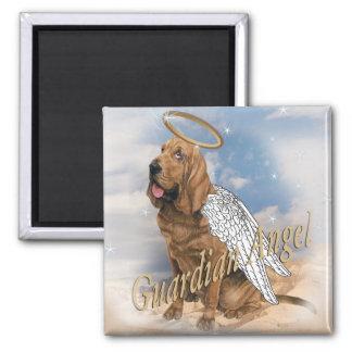Bloodhound guardian angel magnet