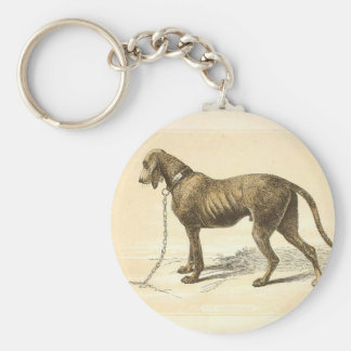 Bloodhound Key Ring
