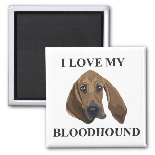 Bloodhound Love Magnet