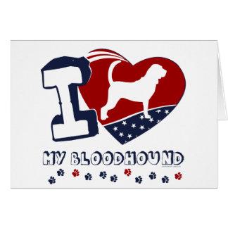 Bloodhound Note Card