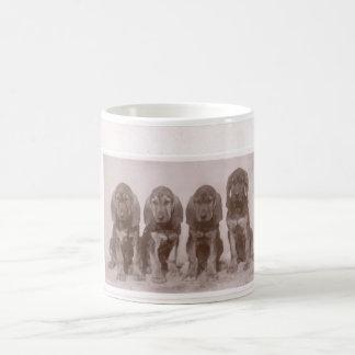Bloodhound Puppied Coffee Mug